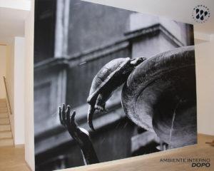 My Wrapping: Personalizzazione interior fotomurale in complesso edilizio a Roma