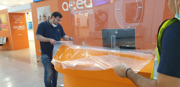 My Wrapping, Restyling ACEA: applicazione pellicola protettiva antigraffio su desk