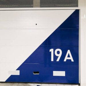 My Wrapping: vista frontale garage personalizzato