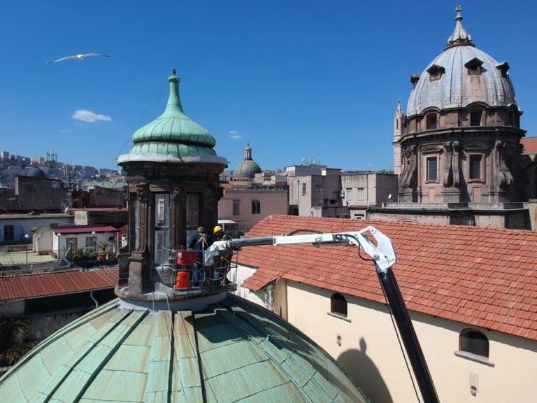 My Wrapping: Riduzione energia solare e adeguamento vetri alla normativa vigente del Pio Monte della Misericordia