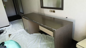 My Wrapping: restyling stanze albergo Holiday Inn a Roma Eur