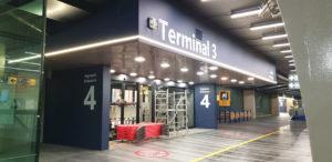 My Wrapping: Restyling ingresso terminal aeroporto Roma